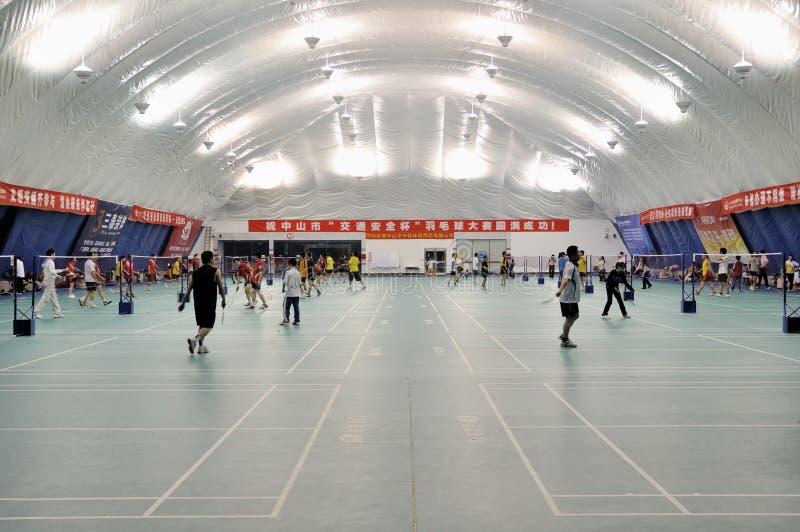 Download Zhongshan,china: Badminton Hall Editorial Stock Photo - Image: 18557208