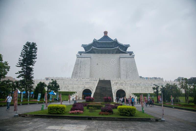Zhongzhengdistrict, Taipeh, Taiwan, Chiang Kai-shek Memorial Hall, Vrijheidsvierkant stock foto