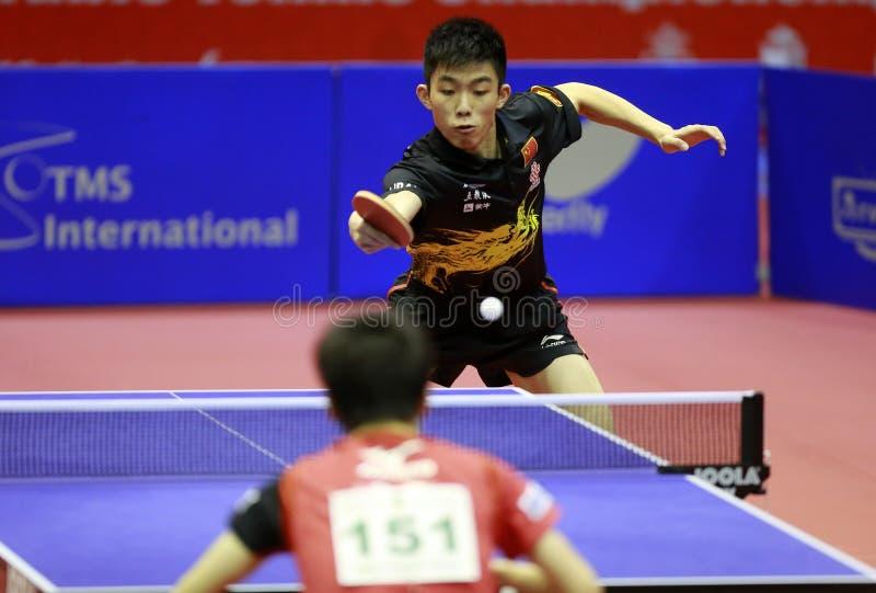 ZHOU Kai (CHN) fotografia de stock royalty free