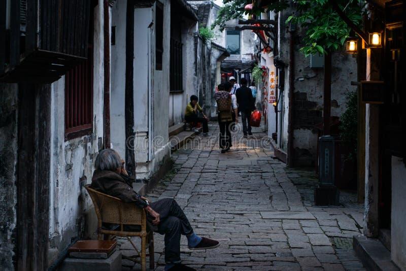 Zhou zhuang stock fotografie