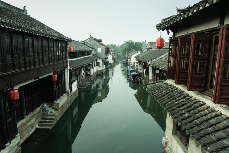 Zhou zhuang arkivbilder