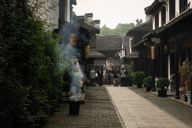 Zhou zhuang stock foto
