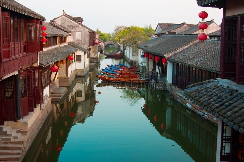 Zhouzhuang fotos de archivo libres de regalías