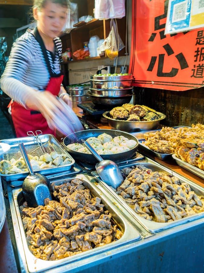 На городке воды Zhouzhuang, Сучжоу, Китай стоковые изображения