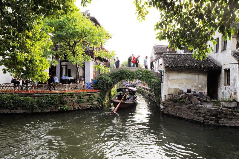 Download Zhouzhuang En China Se Conoce Como La Venecia Del Este Imagen editorial - Imagen de campo, oriente: 41921830