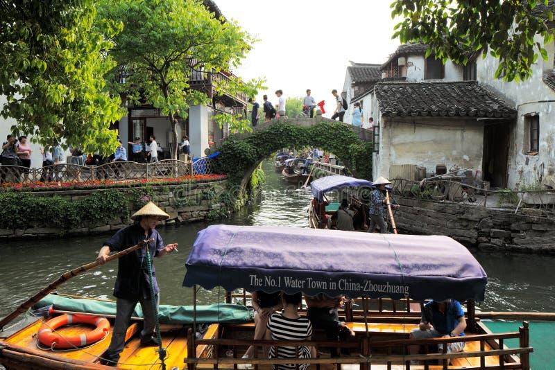 Download Zhouzhuang En China Se Conoce Como La Venecia Del Este Foto de archivo editorial - Imagen de lugar, interés: 41921848