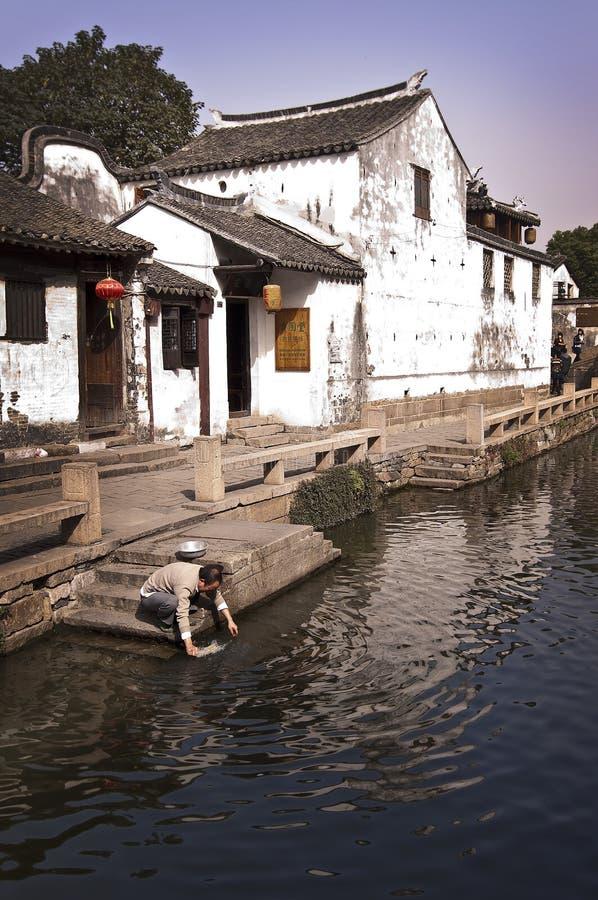 Zhouzhuang Kina arkivfoton
