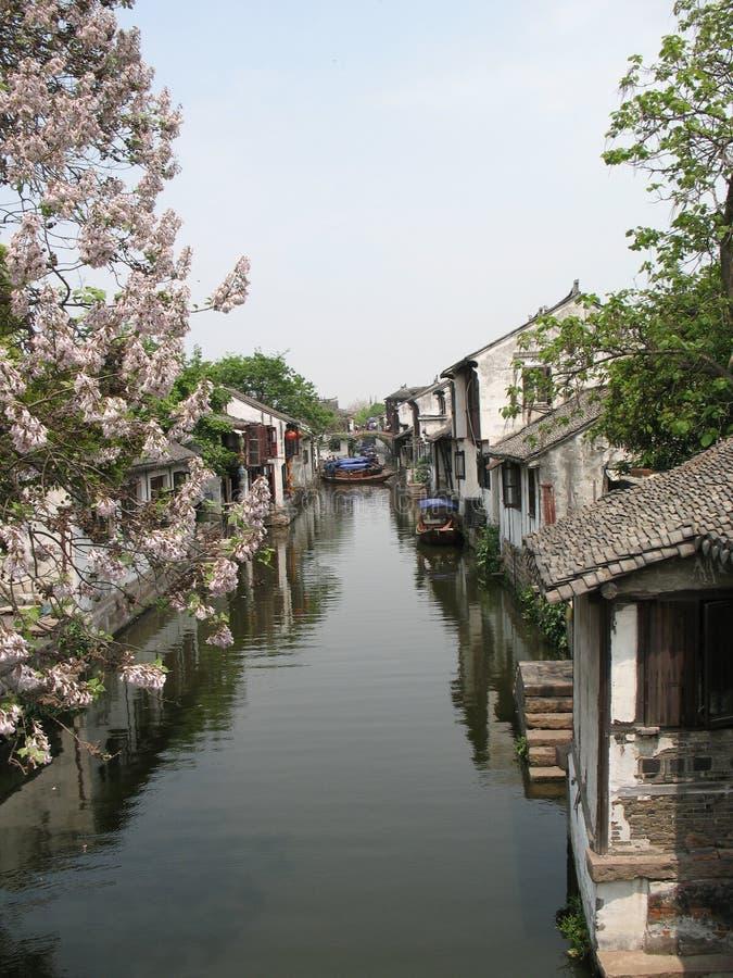 Zhouzhuang Kunshan Suzhou royalty-vrije stock fotografie