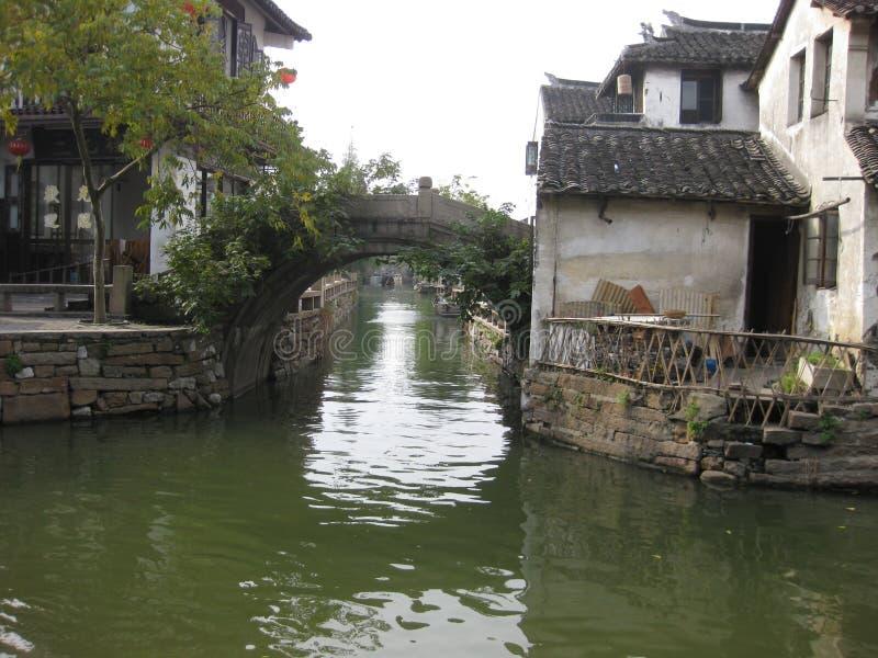 Zhouzhuang, Shanghai, Cina fotografia stock