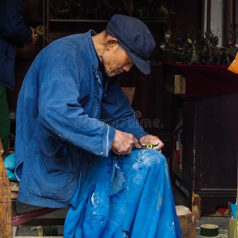 Zhouzhuang, a vila antiga da água fotos de stock royalty free