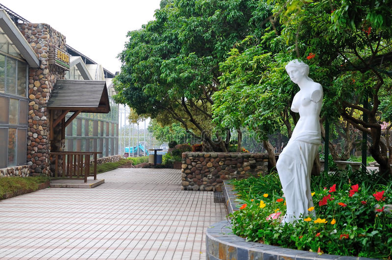 Zhuhai Academy of Agricultural Sciences scenery stock image
