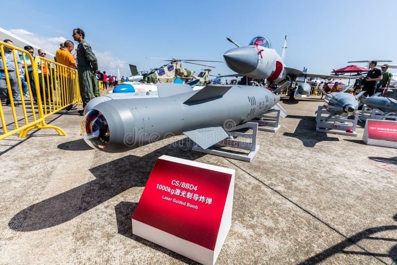 Joint Fighter-17 Thunder at Airshow China 2018. Zhuhai, GuangDong, China - November 07, 2018: Joint Fighter-17 Thunder at Airshow China 2018 stock photography