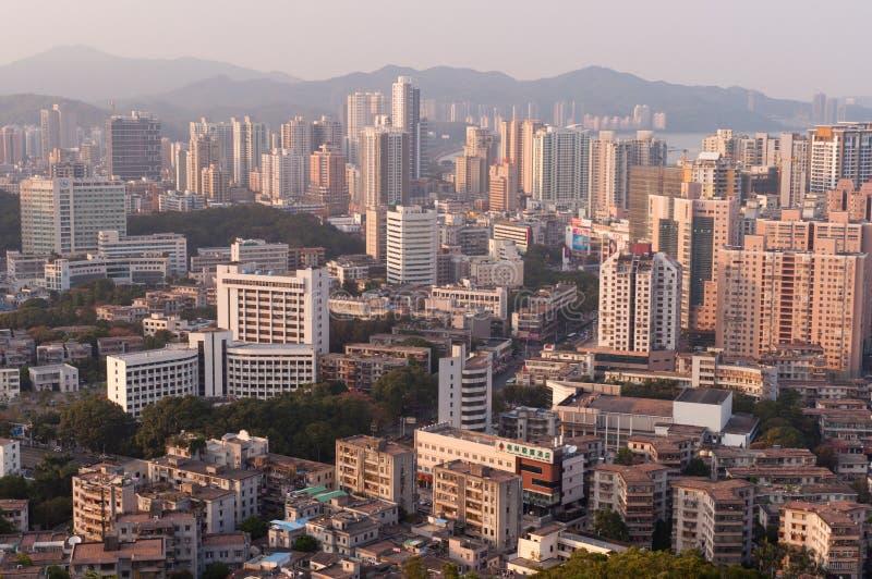 Xiangzhou område, Zhuhai, Kina royaltyfri foto