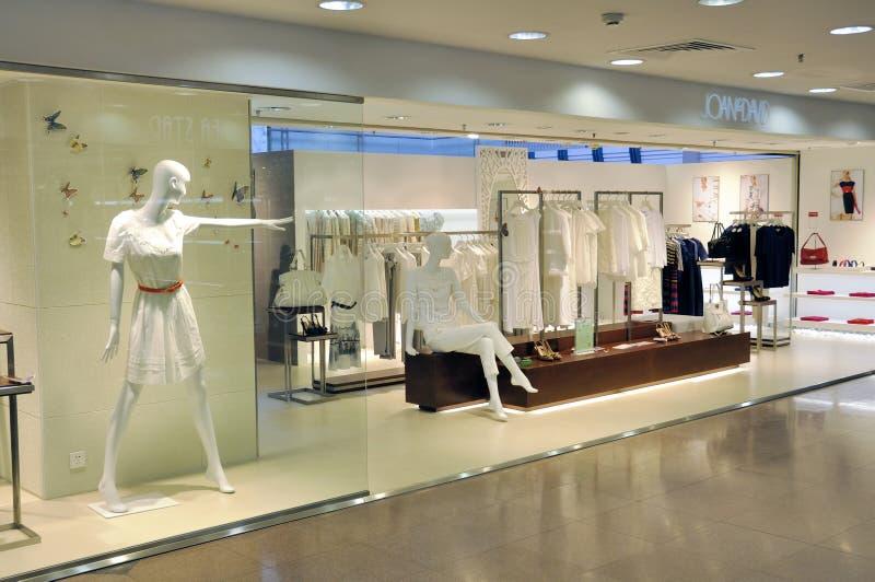 Zhuhai, plaza de compra imagem de stock