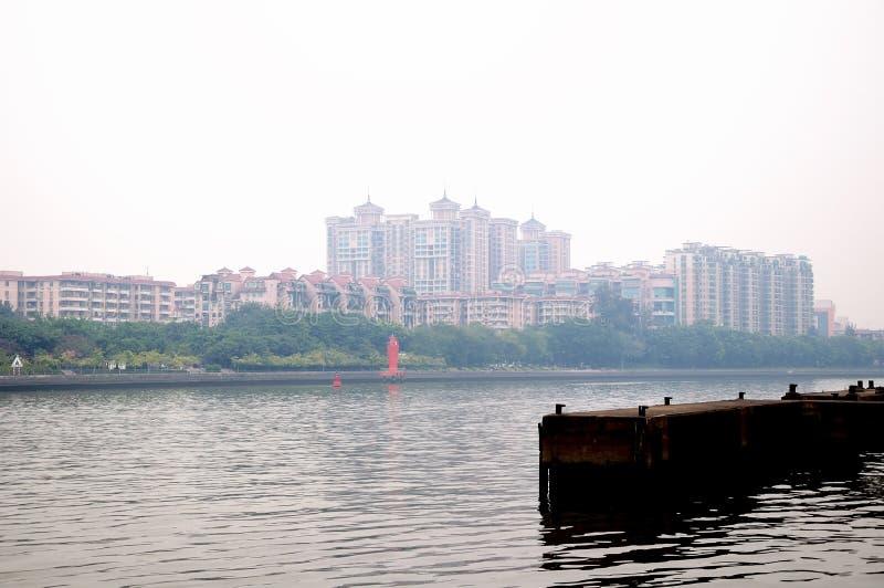 Zhujiang river stock image