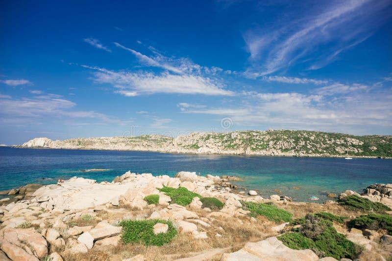 Zia Culumba Beach. Capo Testa, Sardinia Island, Italy. Sardinia is the Second Largest Island in Mediterranean Sea royalty free stock image