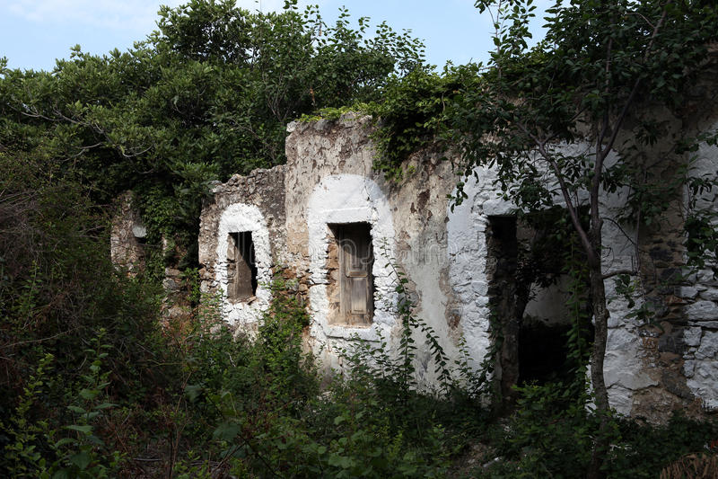 Zia, Kos Island, Greece. Typical Greek Village. Zia, Kos Island, Greece royalty free stock photography