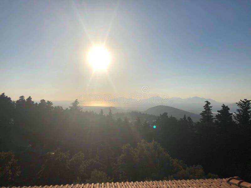 Zia kos island. Pre sunset kos island greece royalty free stock photography