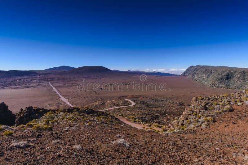 Zibelinas do DES de Plaine, Pitão de la Fournaise, Reunion Island fotos de stock royalty free