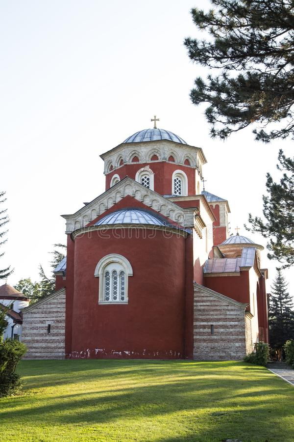 Zica monaster zdjęcia stock