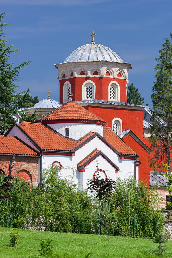 Download Zica monastery stock image. Image of belgrade, baptistery - 43385585