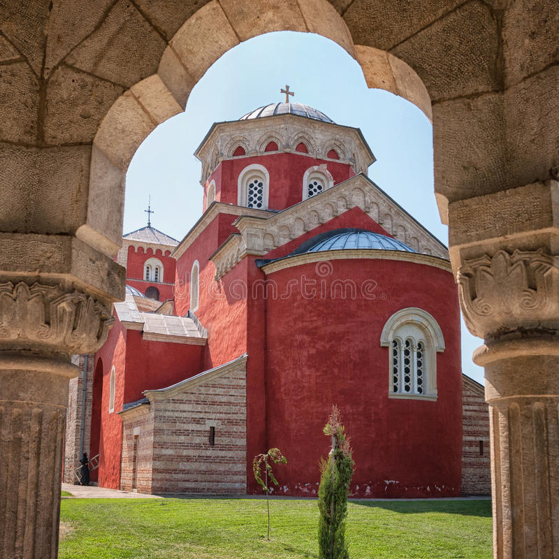 Download Zica monastery editorial photo. Image of christian, monastery - 29710391