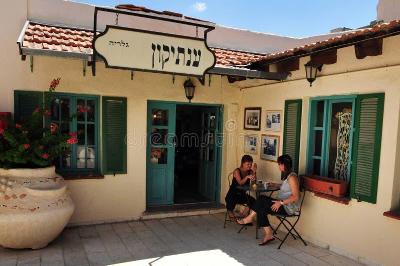 Zichron Yaakov - Israel imagenes de archivo