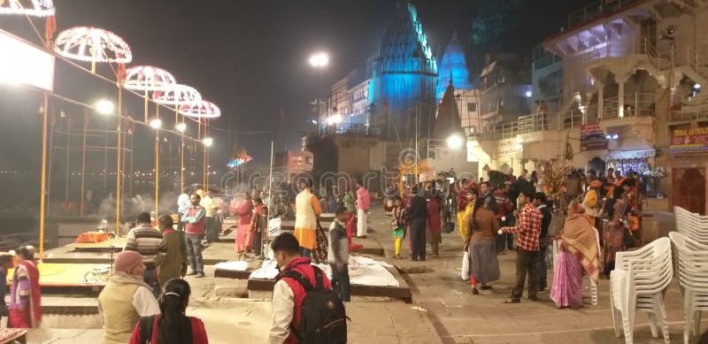 Zie Ganga royalty-vrije stock afbeeldingen