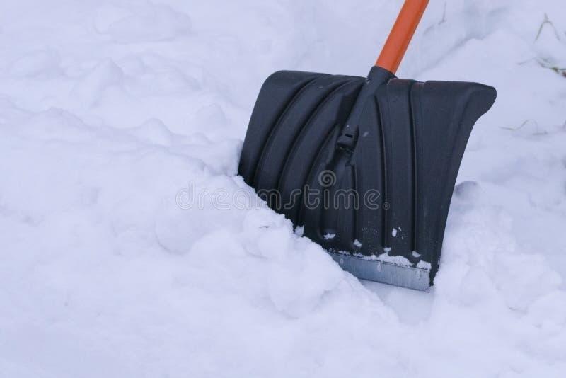 Zie mijn andere werken in portefeuille Close-up in de sneeuw royalty-vrije stock fotografie