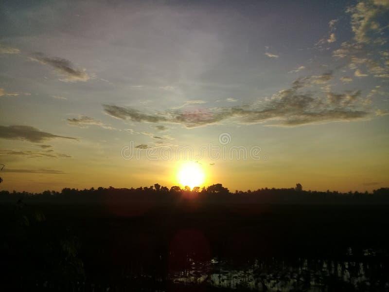 Zie zonsopgang 2 royalty-vrije stock foto