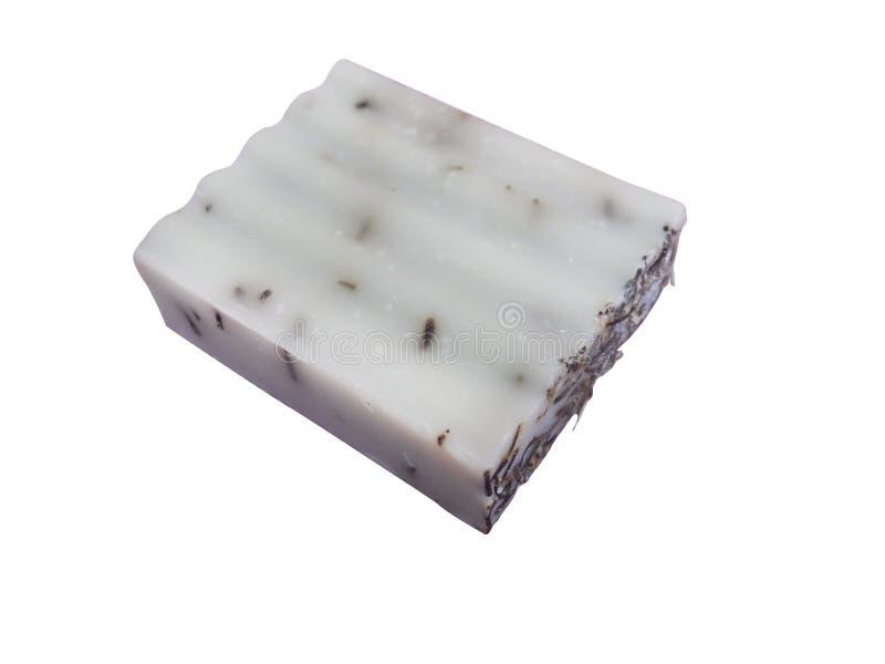 Ziege ` s Milchseife mit dem Rosmarin, handgemacht lizenzfreie stockbilder
