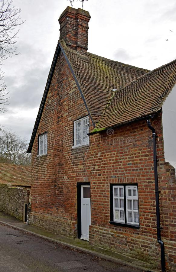 Ziegelstein errichteter Workhouse in Charing Kent lizenzfreie stockbilder
