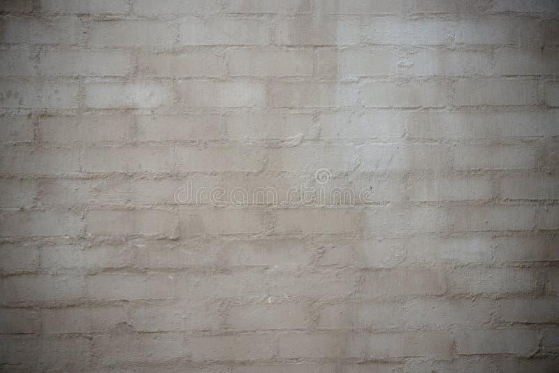 Ziegelstein und Zement/Betonmauerbeschaffenheit oder -hintergrund stockfotografie