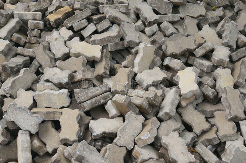 Ziegelsteinblock stockfotografie