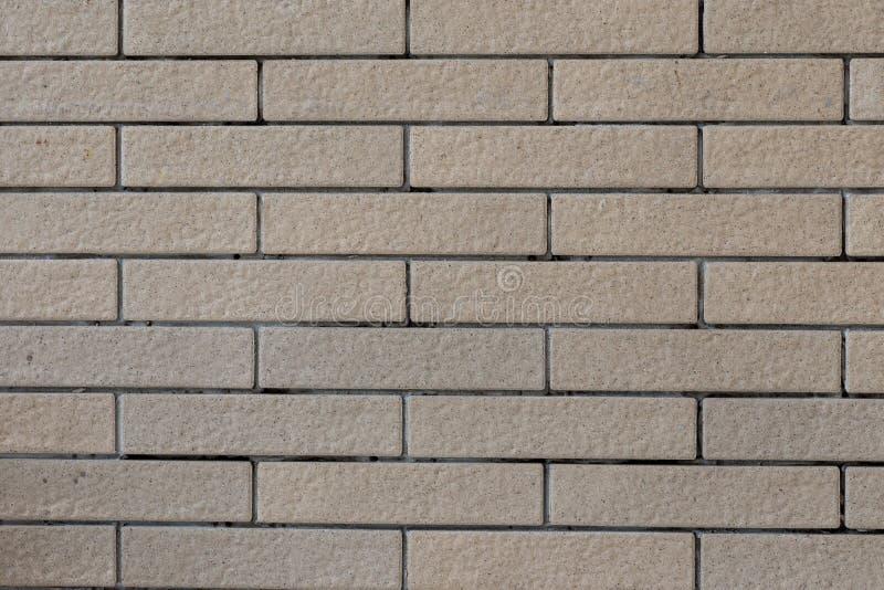 Ziegelsteinbodenfliese, quadratische Form der Fliese Bild f?r Hintergrund-, Tapeten- und Kopienraum Nahtloser Backsteinmauerhinte stockfotos