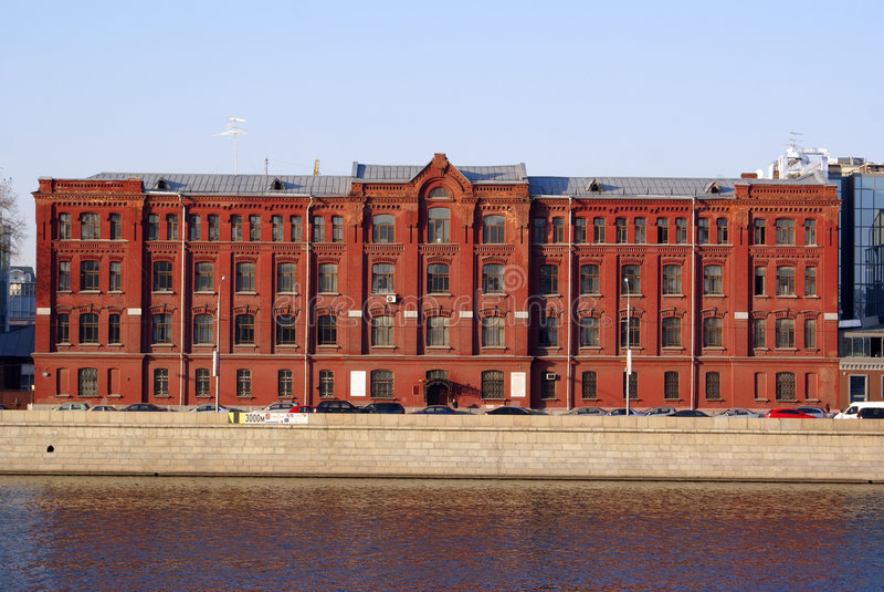 Ziegelsteinfabrik lizenzfreies stockfoto