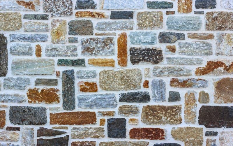 Ziegelsteinsteinwand-Beschaffenheitshintergrund lizenzfreie stockfotos