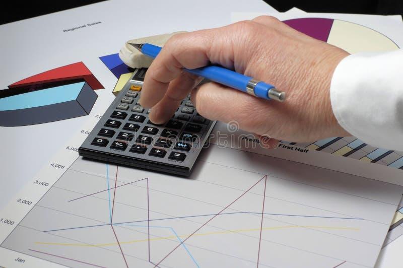 Ziehen der Bilanz lizenzfreies stockfoto