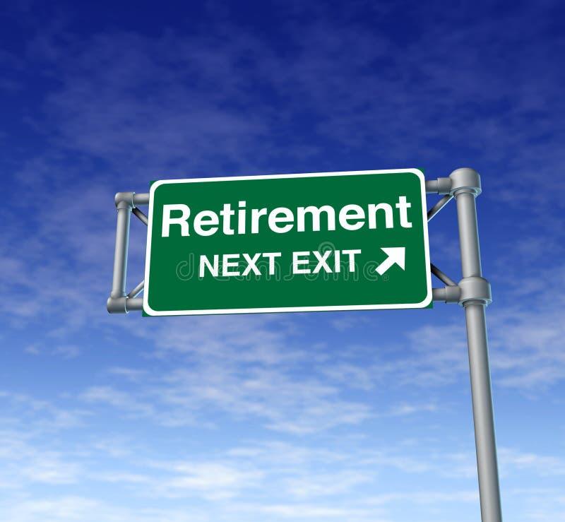 Ziehen Sie sich älteren erwachsenen Freiheits-Ruhestand zurück