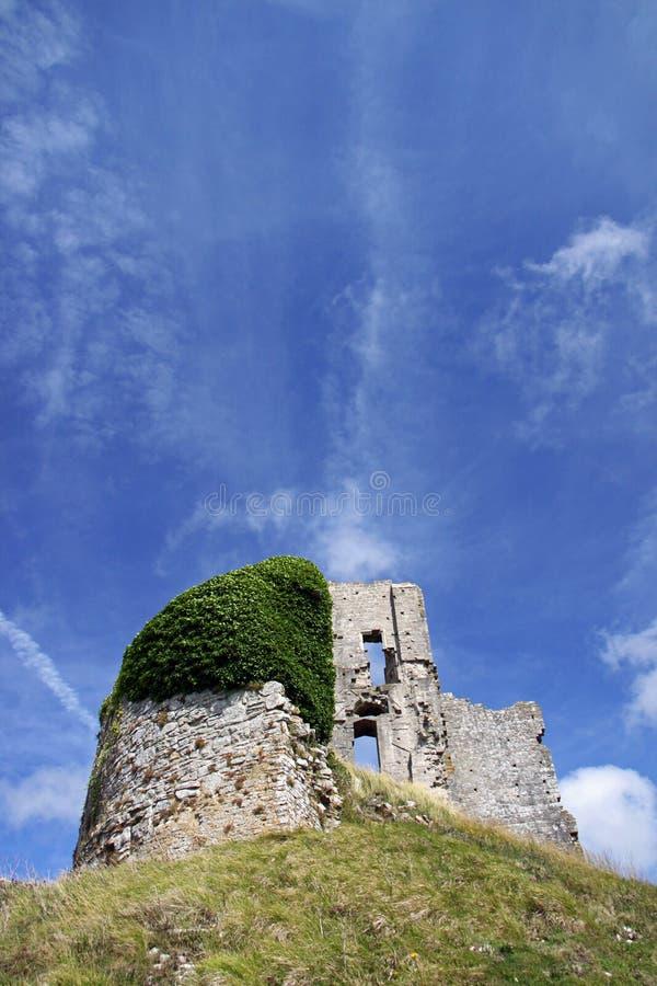 Ziehen Sie sich alte Ruinen des Forts zurück stockfotos