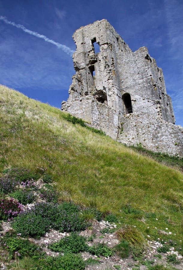 Ziehen Sie sich alte Ruinen des Forts zurück stockfoto