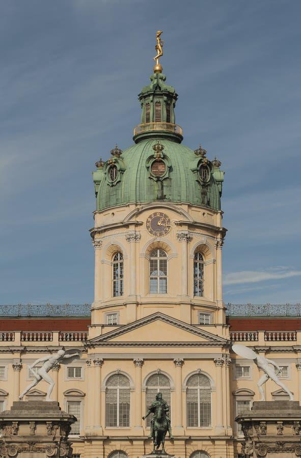 Ziehen Sie sich Charlottenburg zurück lizenzfreies stockfoto