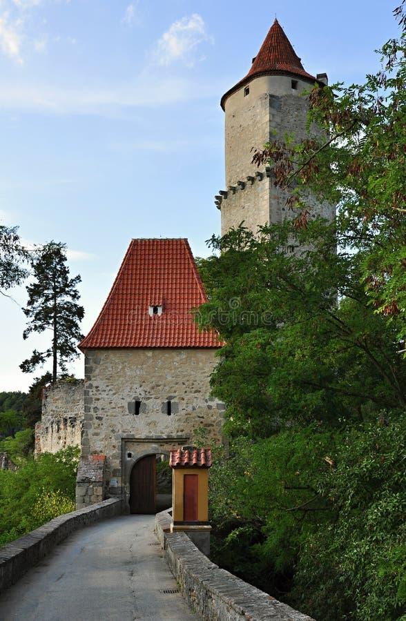 Schloss Zvikov stockfoto
