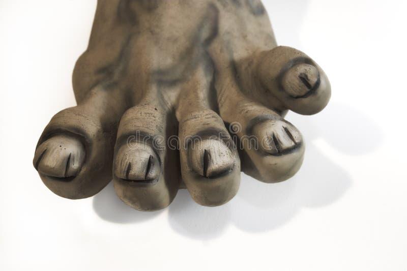 Zieke voeten stock foto's