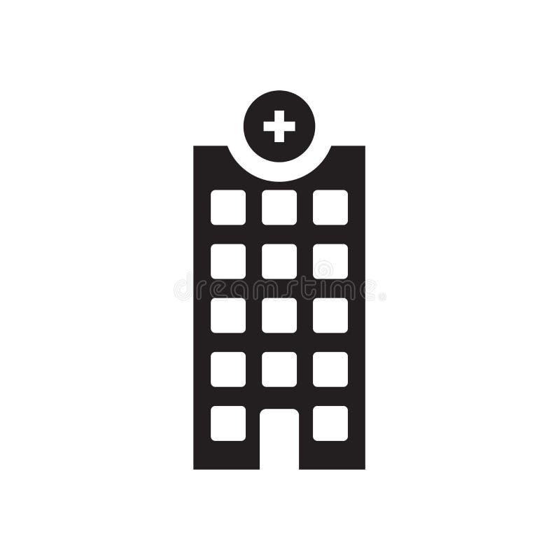 Ziekenhuisopnamepictogram  vector illustratie