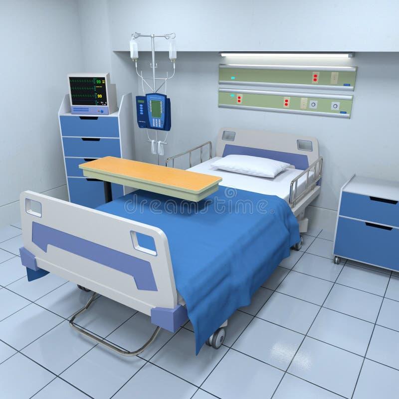 ziekenkamer stock illustratie