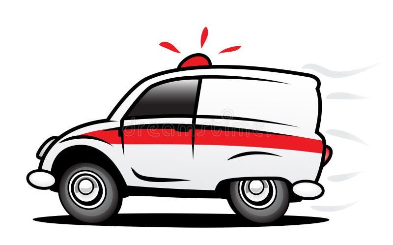 Ziekenwagen royalty-vrije illustratie