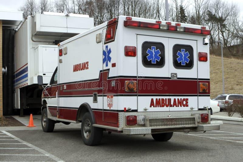 Ziekenwagen royalty-vrije stock afbeelding