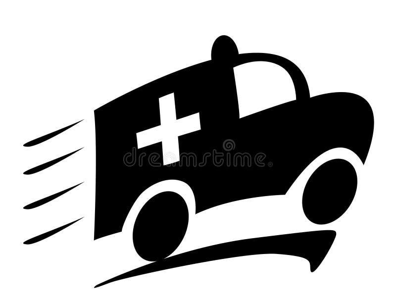 Ziekenwagen vector illustratie