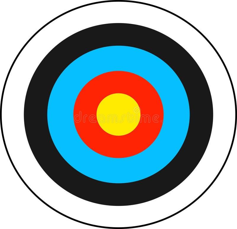 Download Ziel vektor abbildung. Illustration von bogenschießen, bullauge - 43733